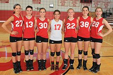 2013 BHS Varsity Volleyball Seniors