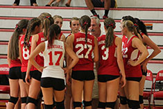 2013 Volleyball Huddle