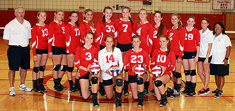 BHS Volleyball Varsity Team 2014