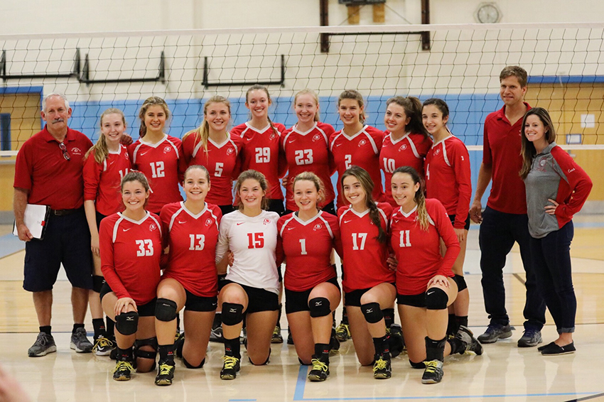 Barnstable Volleyball Team wins Medfield Tournament