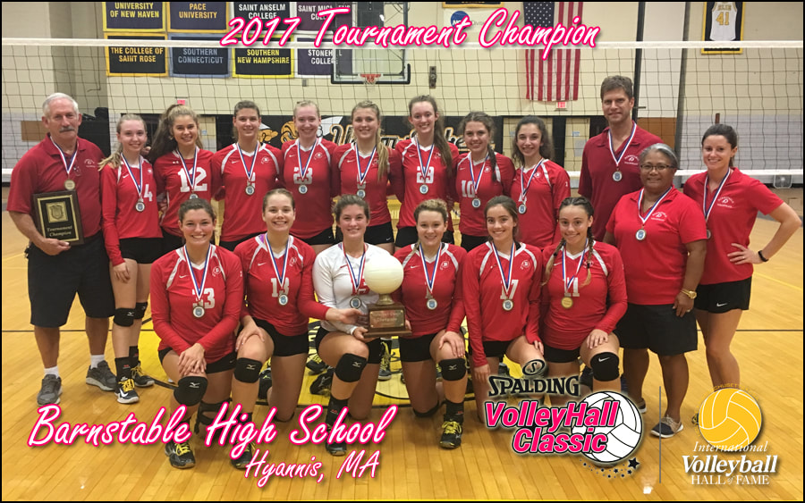 BHS Girls Volleyball wins Volleyhall Classic 2017