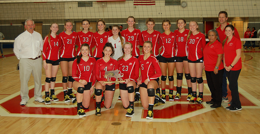 BHS Girls Varsity Volleyball Division I South
